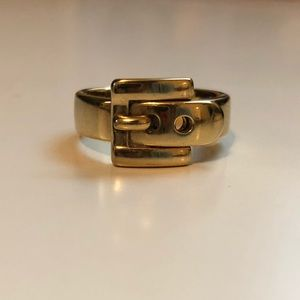 Michael Kors Buckle Ring | Size 6